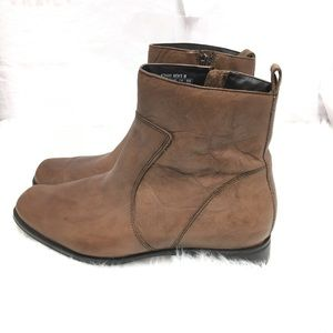Rockport Men's Toloni Zip Leather Boots Size 11